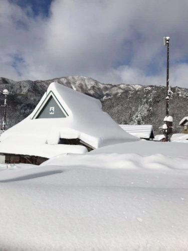 雪の甲津原2020